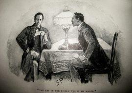 Sherlock Holmes and John Watson - Sidney Paget