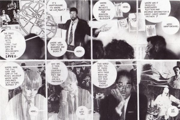 Big Numbers, de Alan Moore e Bill Sienkievicz.