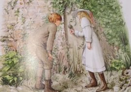 Pinterest The Secret Garden, illustrated by Graham Rust
