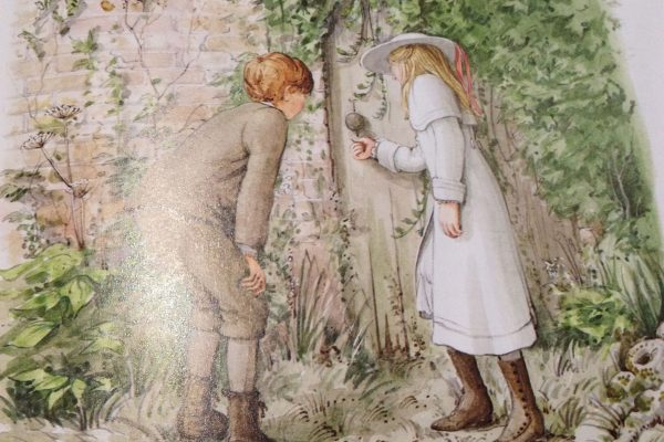 Pinterest The Secret Garden, illustrated by Graham Rust