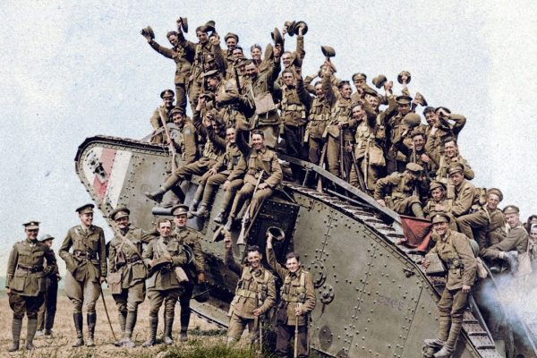 With the guidance of specialists from the Canadian War Museum, a series of black and white photographs of the Canadian Corps from the First World War have been coloured.