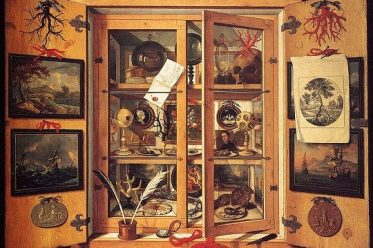 Musaeum Clausum (a biblioteca escondida) é um catálogo falso de uma coleção que continha livros, imagens e artefatos.